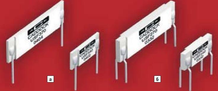 Внешний вид резисторов серий