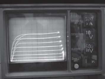 Выходные характеристики HV nMOП- и рМОП-транзисторов