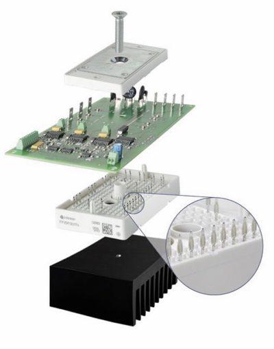 Монтаж модулей SmartPIM, SmartPACK