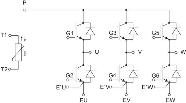 Структура модулей исполнений FS