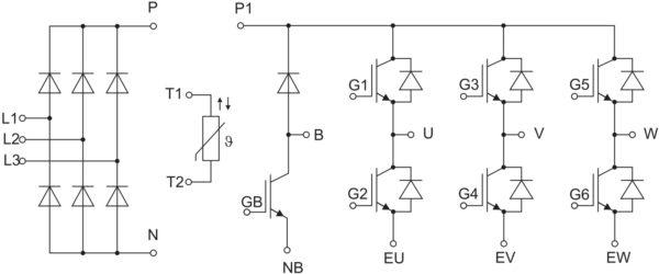 Структура модулей исполнений FP