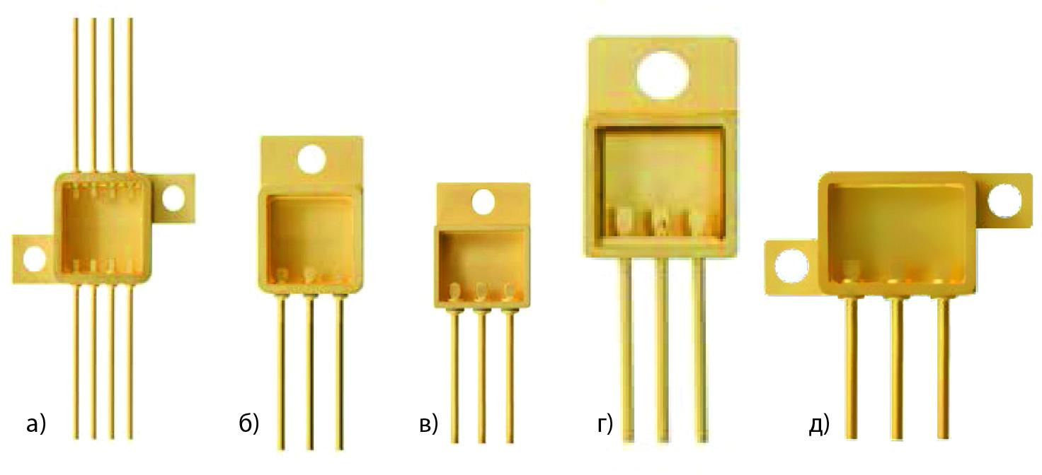 Корпуса для полупроводниковых приборов: