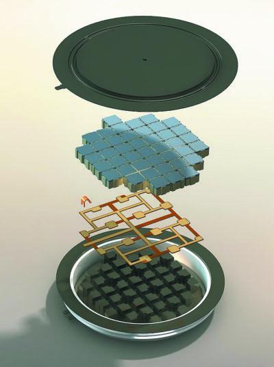 Структура модуля Press-Pack IGBT на базе третьего поколения кристаллов