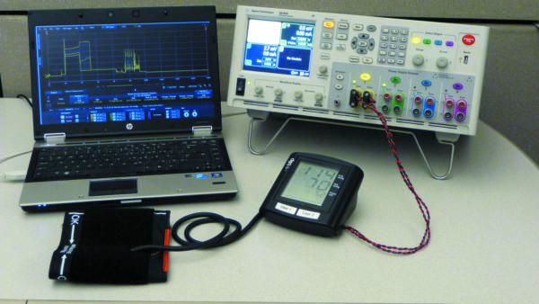 Решение компании Keysight для измерения тока, потребляемого от батарей, и первая в мире система измерения кровяного давления с беспроводным интерфейсом