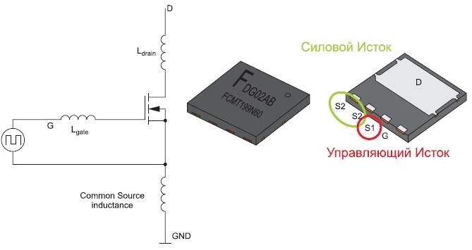 Эквивалентная схема и корпус Power88