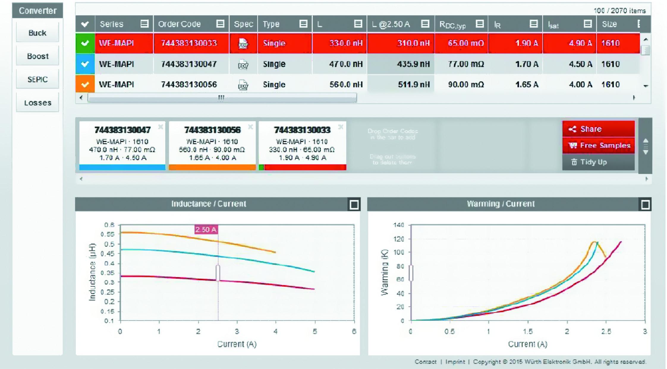 Скриншот онлайн-программы REDEXPERT