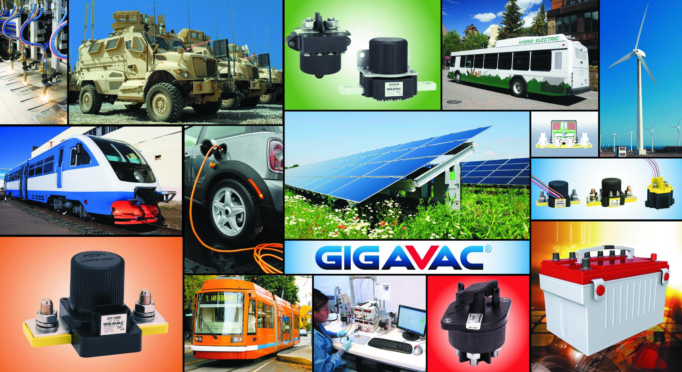 Сферы применения контакторов GIGAVAC