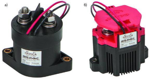 Герметичные высоковольтные контакторы постоянного тока