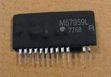 Внешний вид микросхемы M57959L