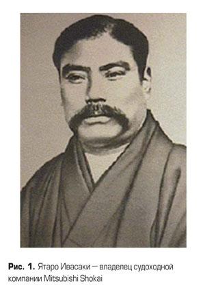 Ятаро Ивасаки - владелец судохдной компании Mitsubishi Shokai
