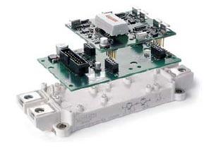 Интеллектуальный силовой модель SEMiX IPM: SKYPER + плата адаптера + модель SEMiX 3