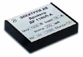 Модель драйвера IGBT со встроенным DC/DC-преобразователем для управления транзисторами до 2000 Д, 4500 В