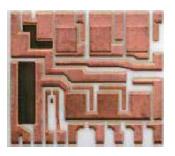Керамическая подложка с толстой медной металлизацией