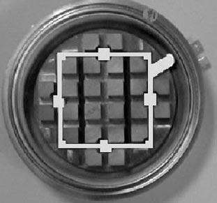 Расположение платы подачи управляющих сигналов на затворы для корпуса 75 мм