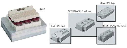 Внешний ввд модулей SKiiP и SEMITRANS