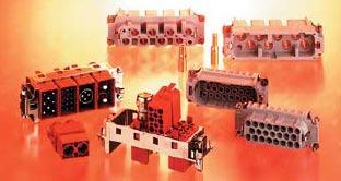 Изолирующие вставки промышленных разъемов фирмы HTS