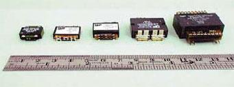 Трансформаторы на основе сердечников по размерами, приведенным в таблице 1