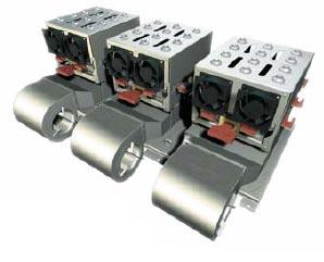 SEMIKUBE при горизонтальном соединении единичных блоков (конфигурация B6CI, выходная мощность - до 900 кВт)