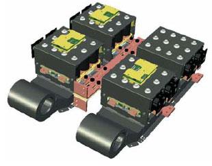 Промежуточный вариант соединения: 3-фазный инвертор и выпрямитель