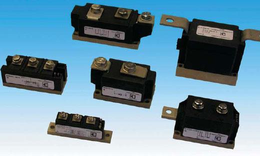 Диодно-тиристорные модули с прижимными контактами