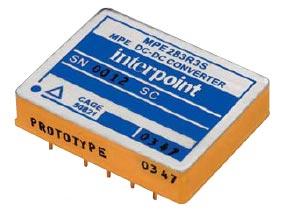 Рис. 1. Внешний вид DC/DC-преобразователя серии MPE283R3S (исполнение без крепежных фланцев)