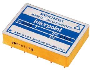 Рис. 4. Внешний вцц DC/DC-преобразователя MWR28515T