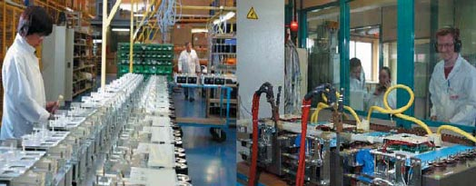 Производство и испытание сборок в дизайнерском центре SEMIKRON во Франции