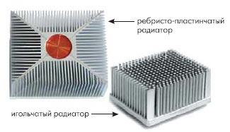 Примеры конструктивных исполнений радиаторов