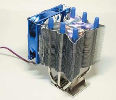 Радиатор с тепловыми трубками (кулер Vanessa, компания Titan)