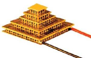 Каскадный термоэлектромодуль
