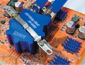 Пример практического применения жидкостного охлаждения для мощных ПП приборов (компания Zalman)
