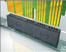 Рис. 4. Power Edge: семейство гибридных межплатных коннекторов