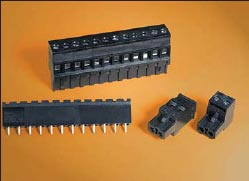 Рис. 7. Eurostyle Terminal Blocks: стандартные клеммные блоки, разъемные и неразъемные