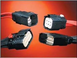 Рис. 8. MX150L: система герметичных (IP67) коннекторов