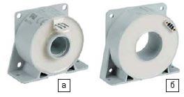 Датчики тока ES (а) и ESM (б) для промышленности