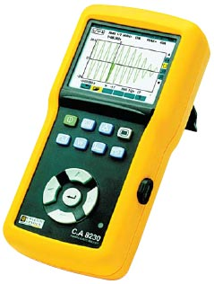 Рис. 2. Цифровой анализатор С.А8230 (вид сбоку)