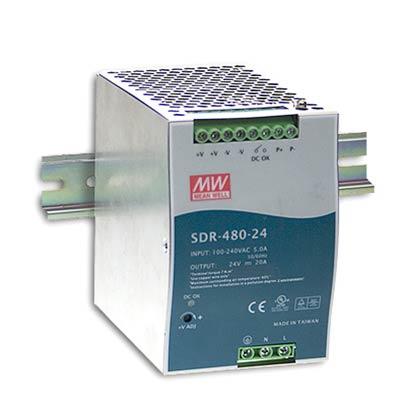 Источник питания Mean Well на DIN-рейку SDR-480