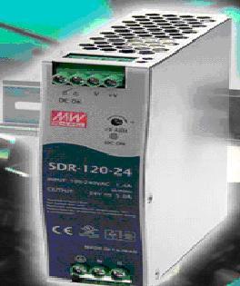 Преобразователи напряжения Mean Well SDR-120