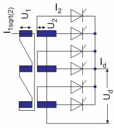 Электрическая схема конфигурации M6, M6C