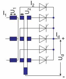 Электрическая схема конфигурации M3.2, M3.2C