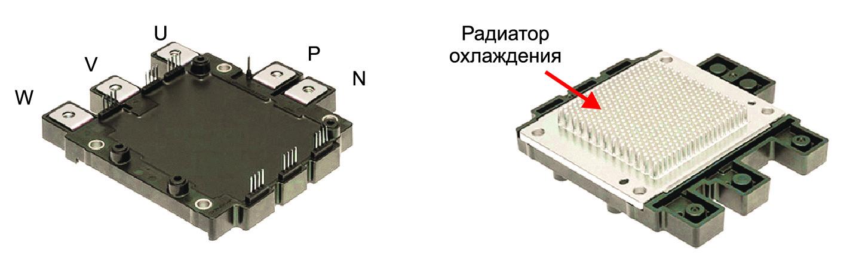 Внешний вид силовых модулей серии J1