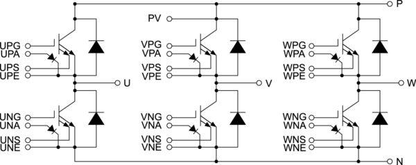 Топология модулей серии J1