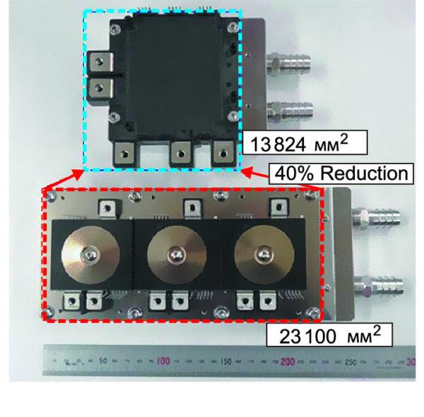 Модуль J1-серии с интегрированным радиатором и сборка стандартного модуля J-TPM
