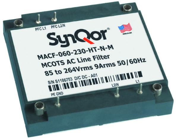 Рис. 6. EMI-фильтр для цепи переменного тока SynQor MACF