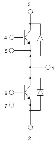 Структура модуля GA400TD60S