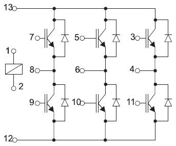 Структура модуля GB15XP120KTPbF