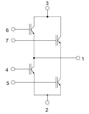 Структура модуля GA200HS60SPbF