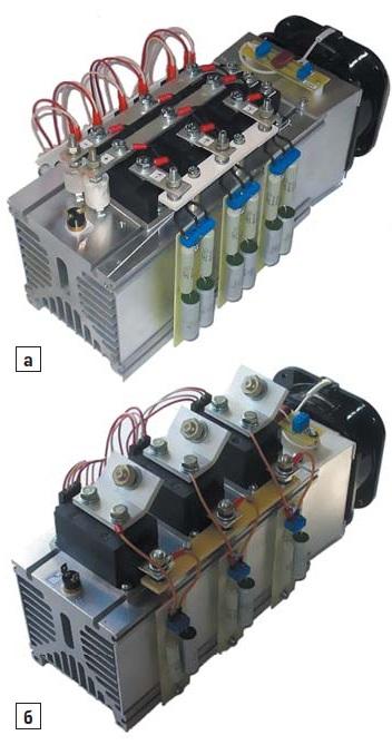 Базовая конструкция силовых блоков наохлаждающей системе О55