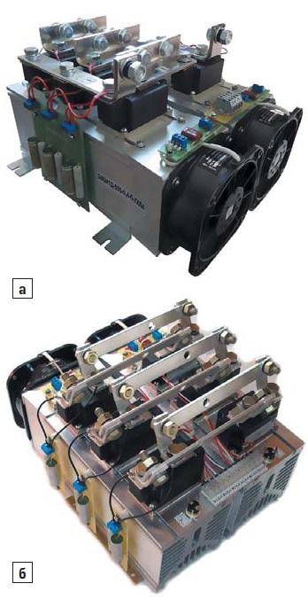 Силовые блоки надвух охлаждающих системах О55