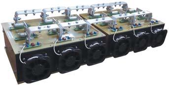 Силовой блок 12-ключевого выпрямителя надвух охлаждающих системах О153